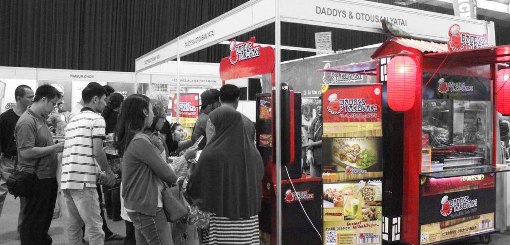 contoh franchise makanan di Indonesia