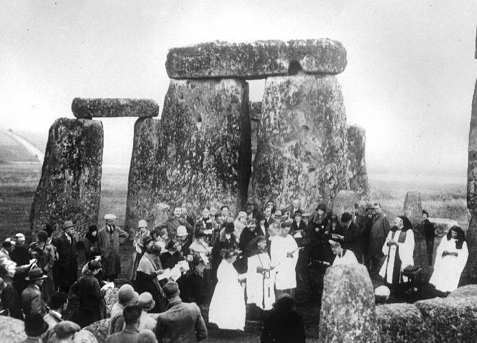 Orang Druid Mengklaim Membangun Stonehenge