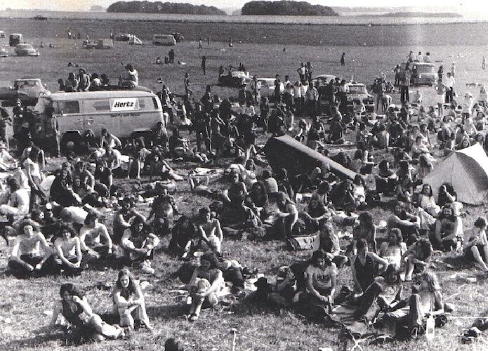 Summer Solstice 1975 Yang Di Adakan di Stonehenge