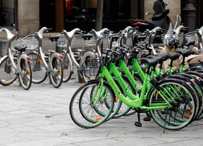 Program bike-sharing di paris