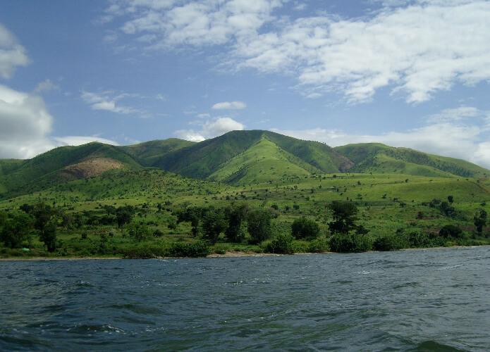danau edward di afrika
