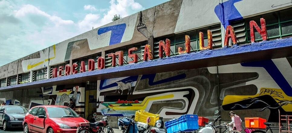 Mercado de San Juan, pasar yang menjual bahan kuliner eksotis