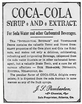 Iklan Coca Cola Pertama Kali