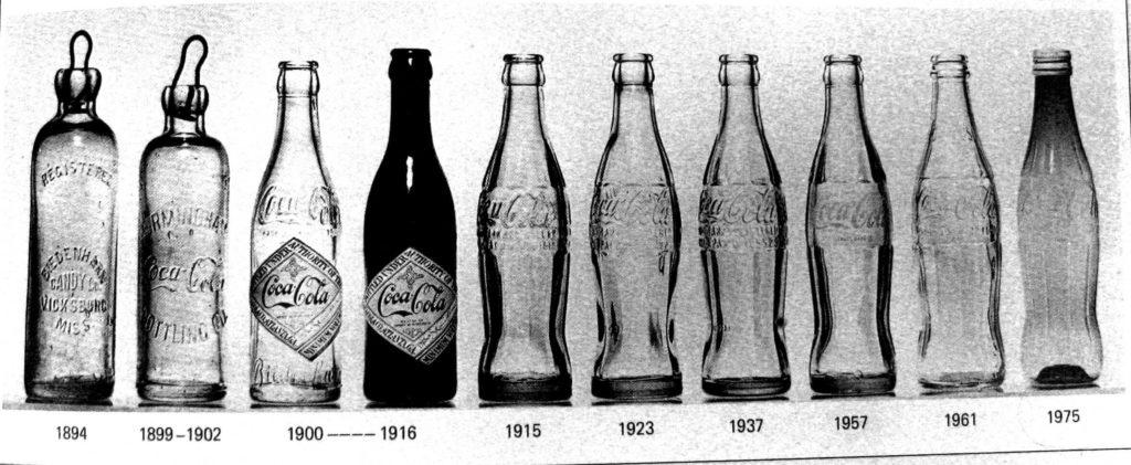 Perubahan Botol Coca Cola Dari Tahun Ketahun