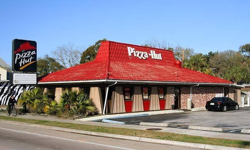 Bangunan Pizza Hut Yang Dijadikan Logo Brand